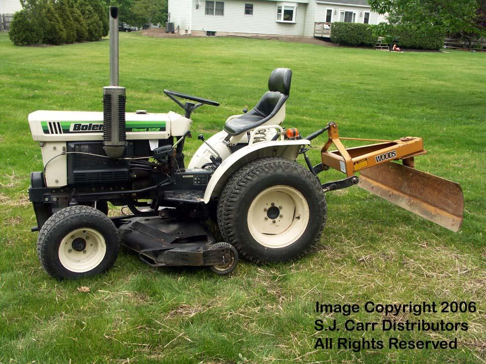 Bolens Lawn Tractor : Bolens iseki g diesel tractor